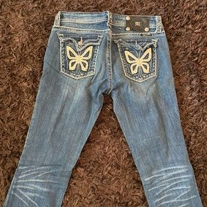 Butterfly miss me designer jeans